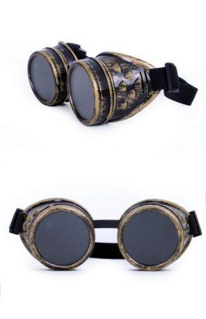 Steampunk Goggles bril goud
