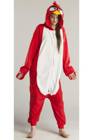 Angry Bird Red onesie