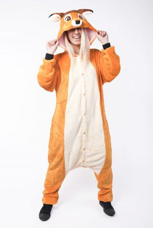 Bambi Hert kinder onesie