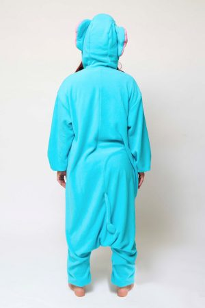 Blauwe Olifant kinder onesie