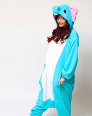 Blauwe Olifant onesie