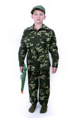 Camouflage Leger pak kids
