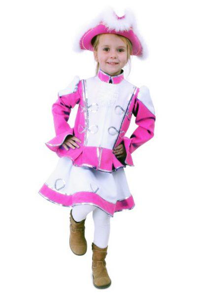 Dansmarietje roze jurkje kids