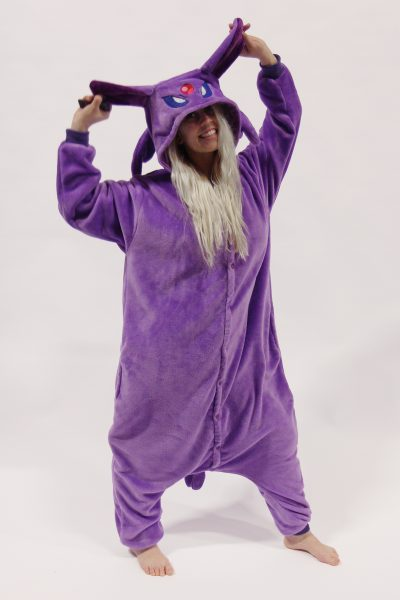Espeon Pokemon kinder onesie