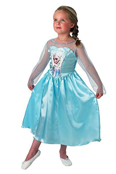 Frozen prinsessenjurk kids