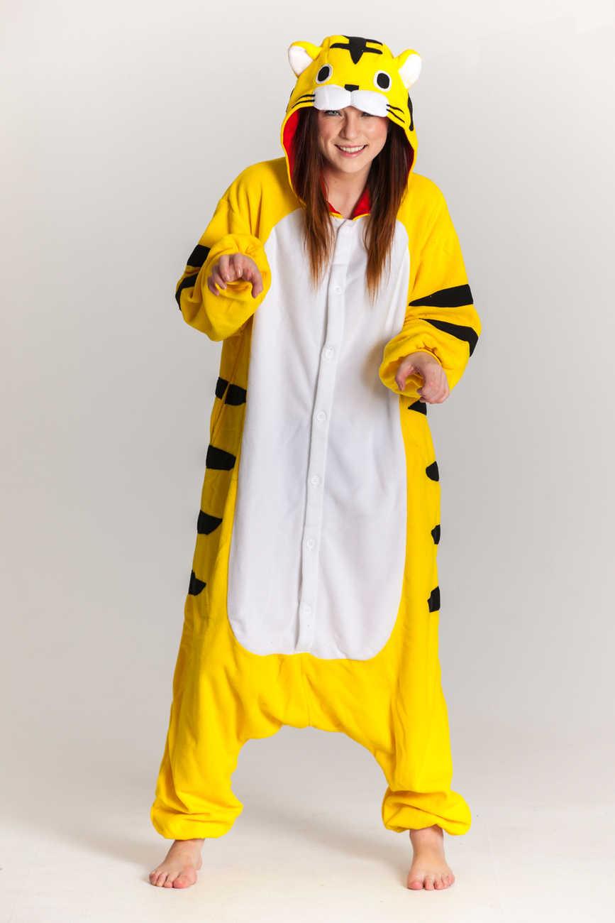 6340b9c9963d Buy your Yellow Tiger onesie now! - PartyinyourAnimal.com