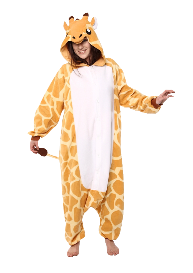 e4aacbb4092d Buy your Giraffe onesie now! - PartyinyourAnimal.com