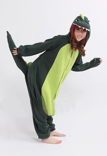 Groene Draak onesie