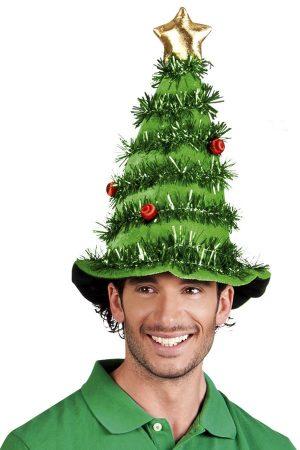 Kerstboom muts hoed