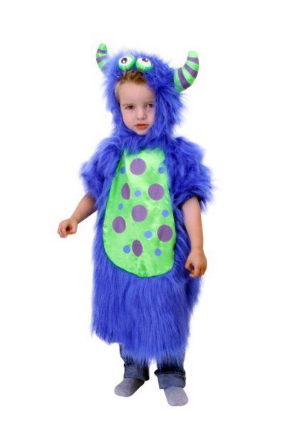 Blauw Monster kinder pakje
