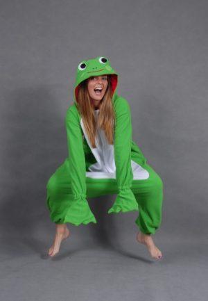 Kikker Frog onesie
