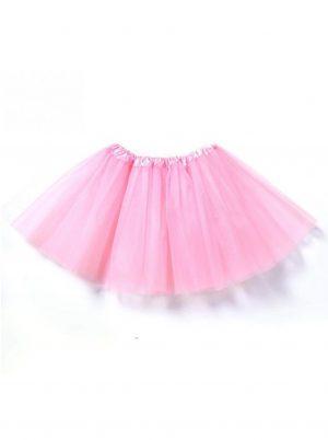 Kinder tutu lichtroze petticoat