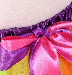 Regenboog tule rokje meisjes tutu petticoat