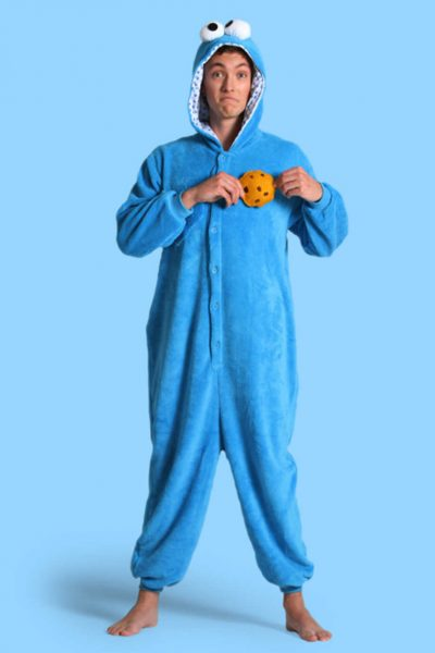 Koekiemonster Sesamstraat onesie