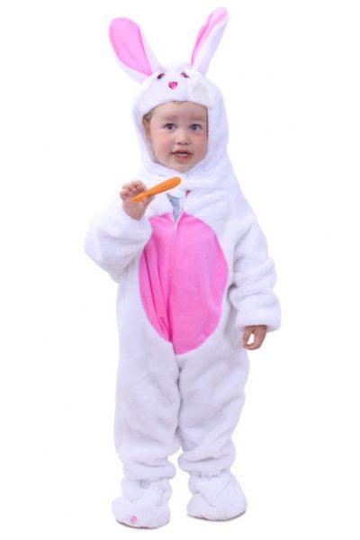 Wit Konijn pakje baby
