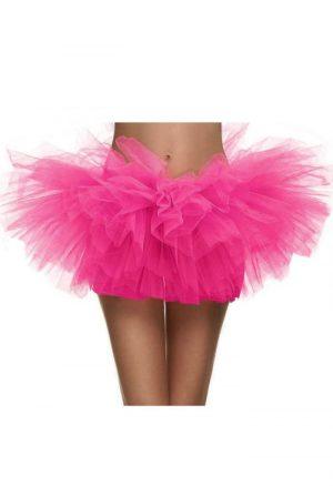 Korte tutu roze tule rokje petticoat