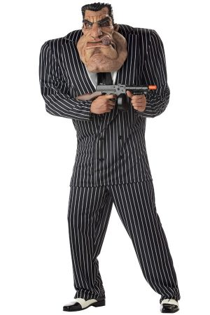 Maffia baas kostuum pak