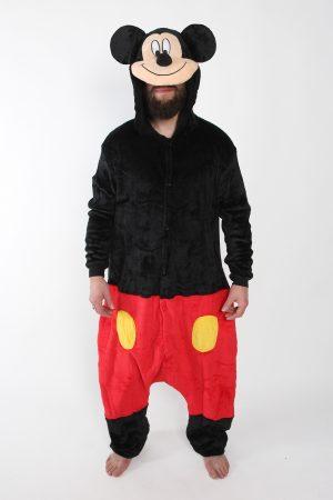 Mickey Mouse onesie kostuum pak