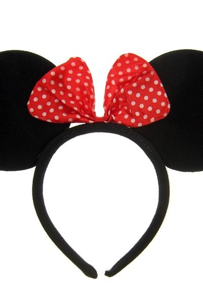 Minnie Mouse haarband oren