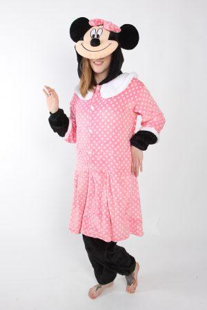 Minnie Mouse onesie kostuum pak