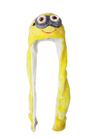 Minion muts met wanten tweeoog