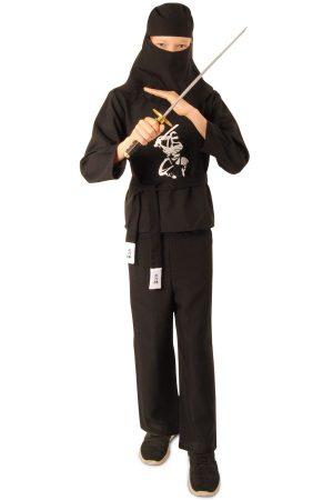Ninja kids pak zwart