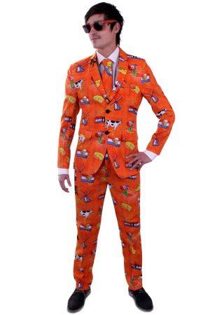 Oranje Holland Koningsdag kostuum