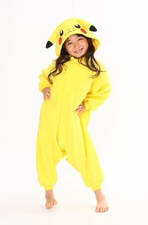 Pikachu Pokemon kinder onesie