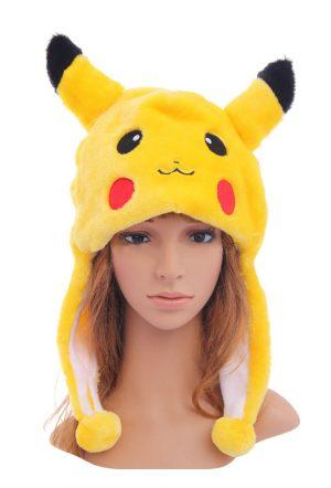 Pikachu Pokémon muts met flappen