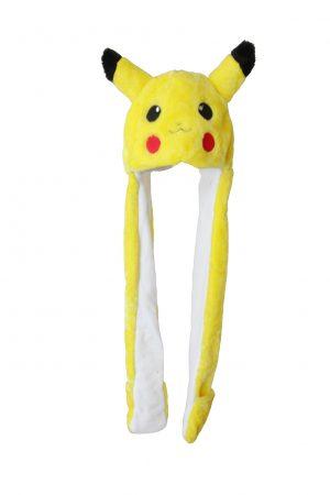 Pikachu muts met wanten