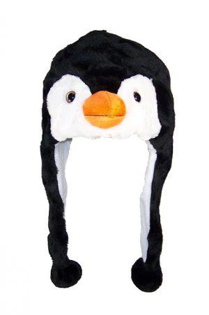 Pinguin muts met flappen