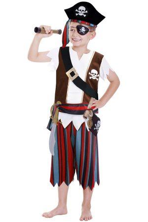 Piraat pak kids luxe