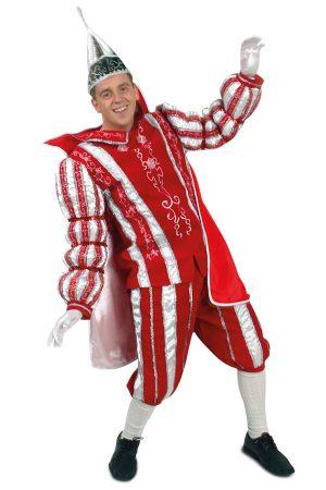 Prins Carnaval kostuum rood