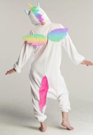 Regenboog pegasus eenhoorn onesie pak