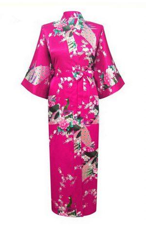 Roze Japanse Kimono Yukata
