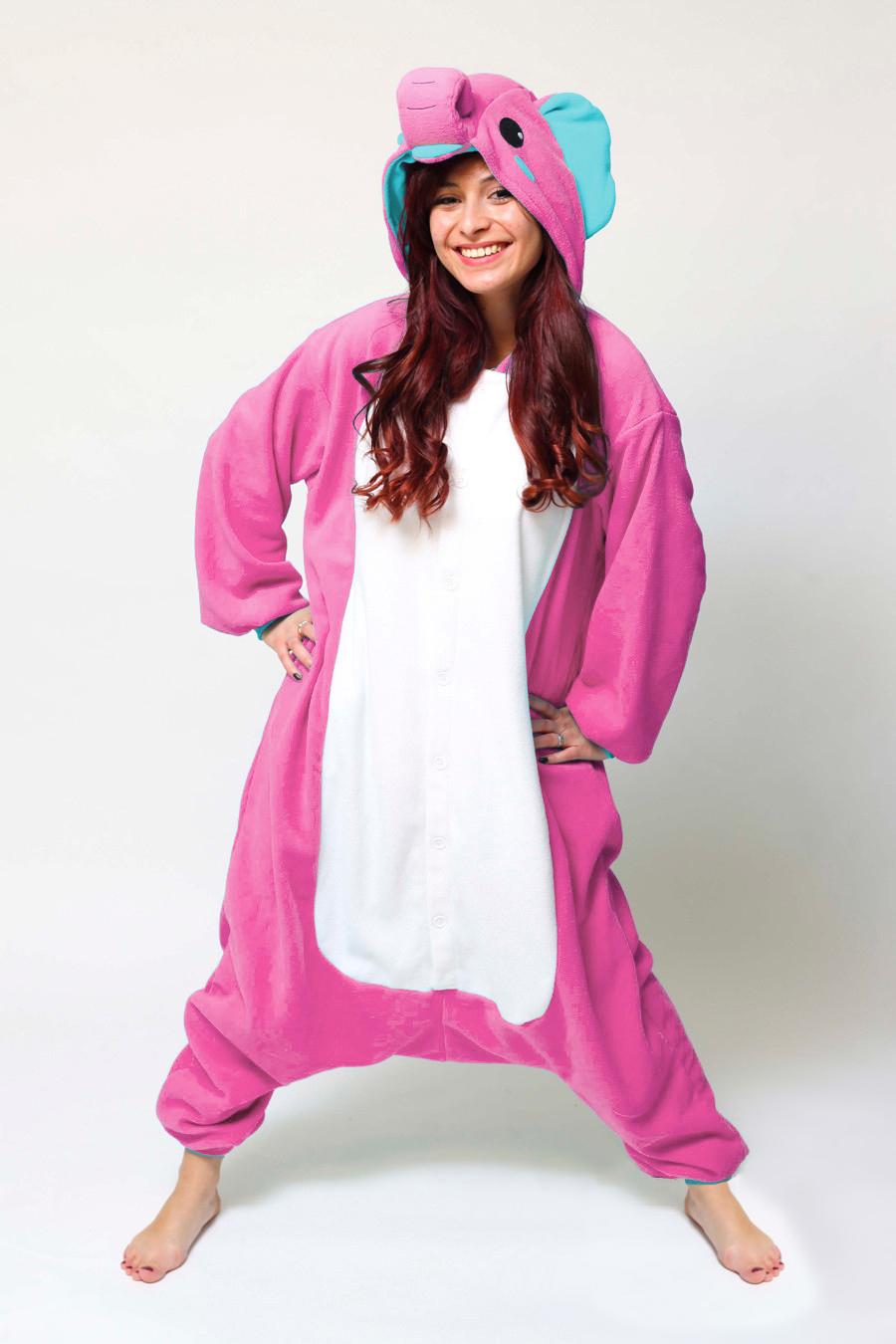 384aefa78 Buy your Pink Elephant onesie now! - PartyinyourAnimal.com