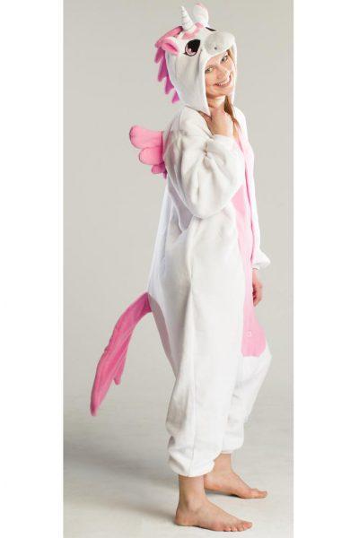 Roze Pegasus kinder onesie