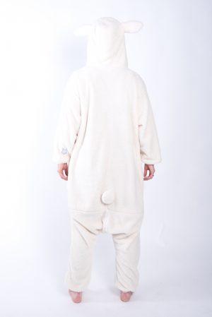 Schaap onesie kostuum pak