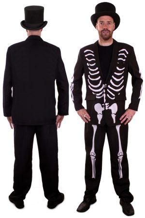 Skeleton Skelet kostuum