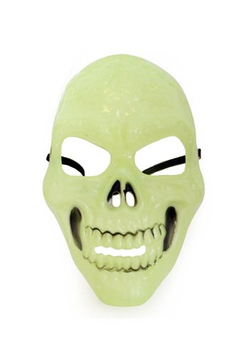Skull skelet masker glow-in-the-dark