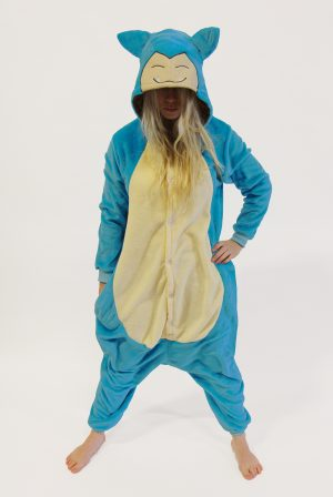 Snorlax Pokemon kinder onesie