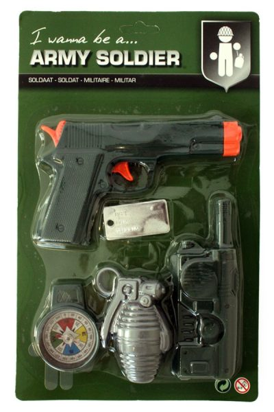 Soldaten Leger accessoires mini set