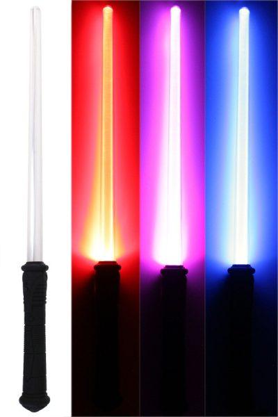 Space zwaard met licht en geluid