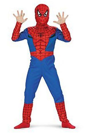 Spiderman pak kostuum Marvel 7-8 jaar