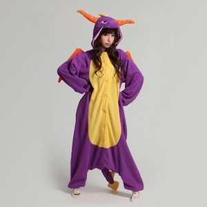 Spyro the Dragon kinder onesie