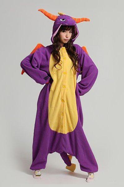 Spyro the Dragon onesie
