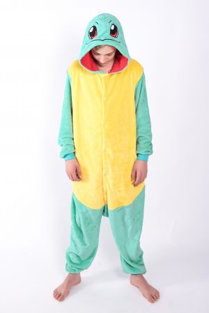 Squirtle Pokémon onesie kostuum pak