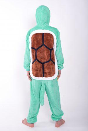 Squirtle Pokemon onesie kostuum pak