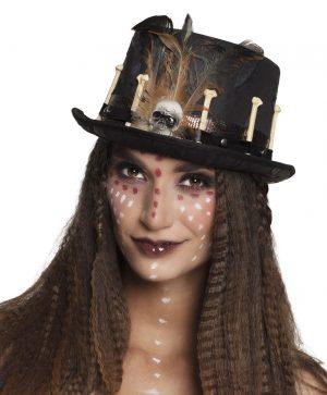 Steampunk hoed botjes voodoo
