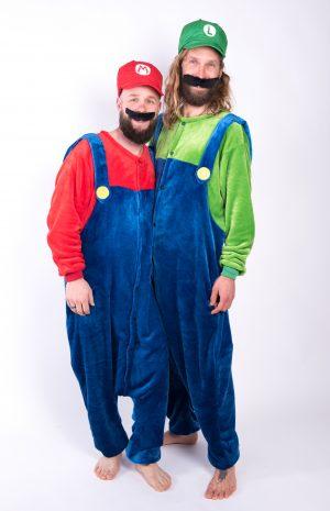 Super Mario en Luigi onesie
